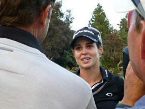 Recari holding back tears on Golf Channel
