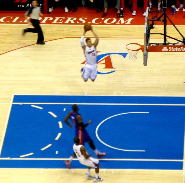 Blake Griffin flying vs. Detroit
