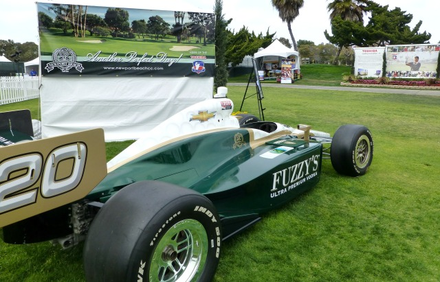 Fuzzy Zoeller's Vodka sponsored Indy Car