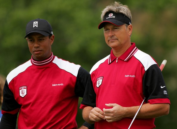 John Cook and Tiger