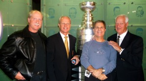 Sharing a Hall of Fame Howe family moment with the Stanley Cup
