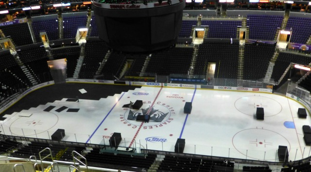 Kings ice turning into a hopeful but also a doubtful Lakers home court advantage