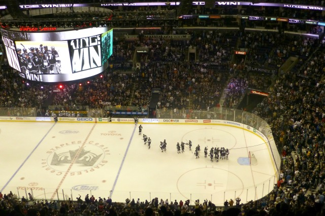 The Kings last celebration before the real season begins