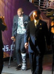 Kobe walks off into the unknown off-season