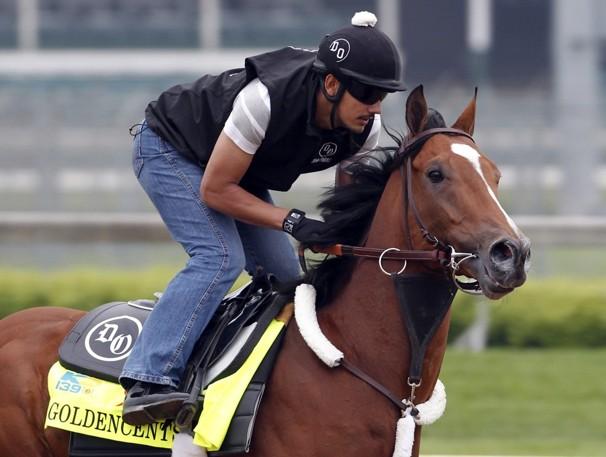 Trainer Doug O'Neill's horse