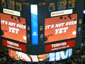 It is NOW for any Ducks-Kings playoff matchup!