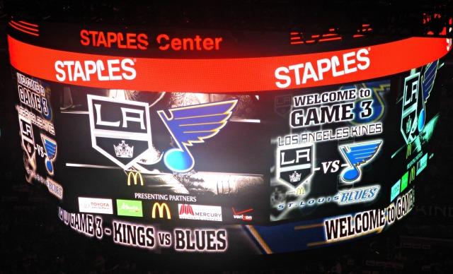 Kings Blues game 3 scoreboard