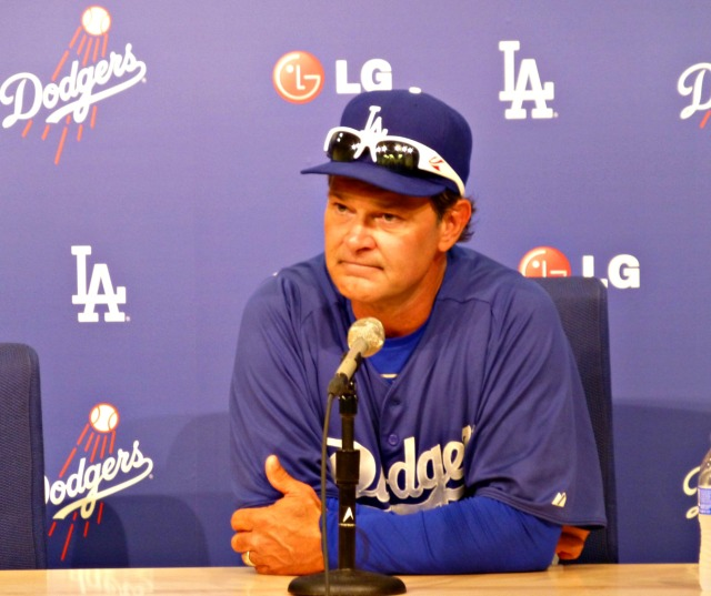 Mattingly had plenty to say pre and post game before heading east