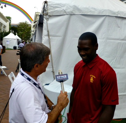 chatting with Marqise Lee