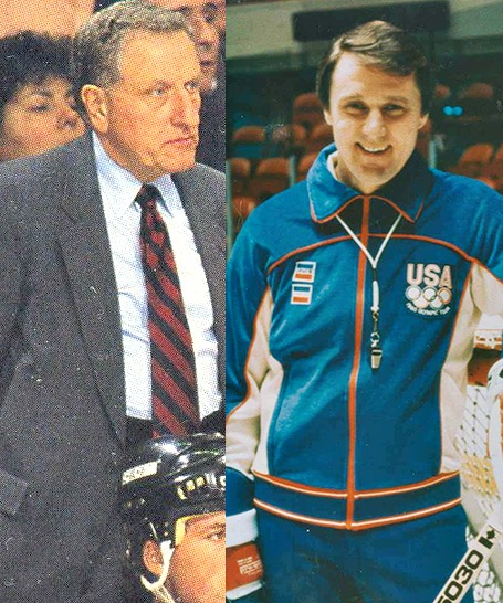 Johnson and Brooks who ironically both coached the Pittsburgh Penguins
