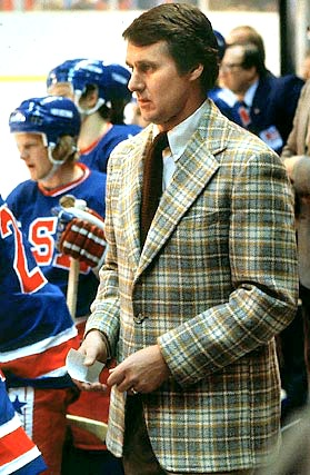 Herbie and his famed plaid sportcoat