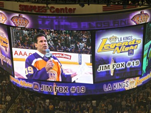 Foxy speaks  to his Kings faithful