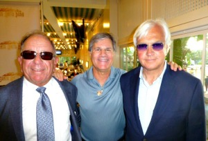 With the happy 'Dude' connection Baffert (right) and Schiappa