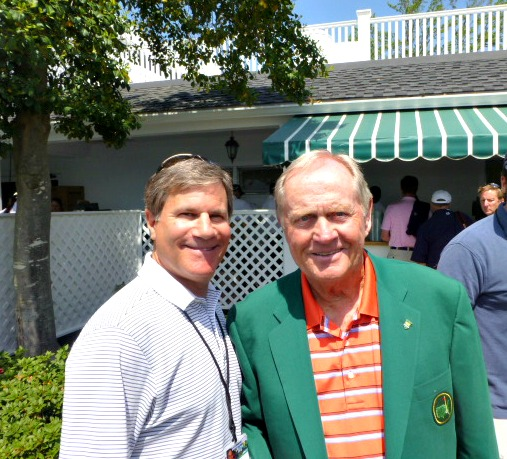 With Jack and one of 6 green jackets