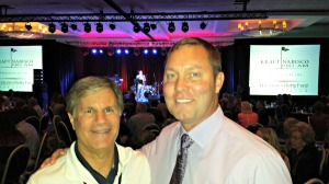 with LPGA commish Mike Whan